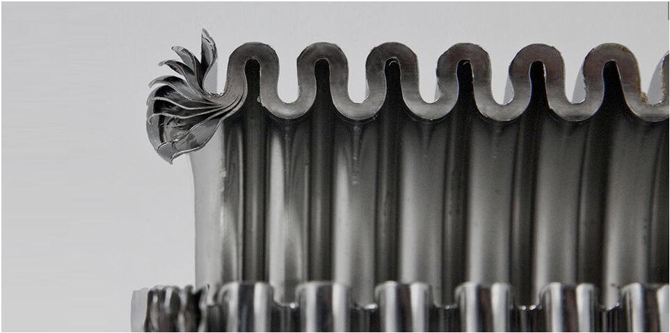 Metal bellows manufaturer assembly